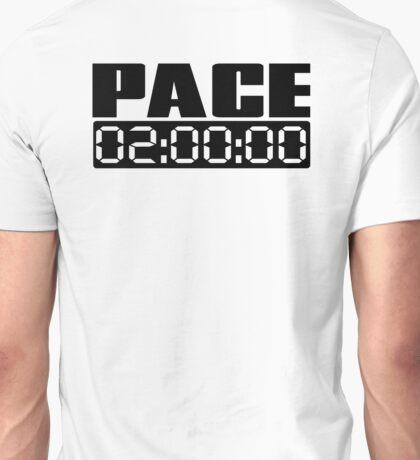 Pace 2:00:00 Unisex T-Shirt