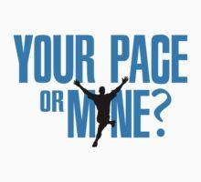 Your pace or mine? by nektarinchen