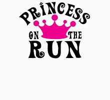 Princess on the run! Womens Fitted T-Shirt