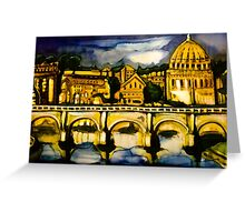 Rome for Ally Greeting Card