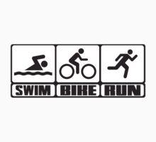 Triathlon: Swim + Bike + Run by nektarinchen