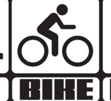 Triathlon: Swim + Bike + Run Sticker