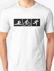 Triathlon: Swim + Bike + Run T-Shirt