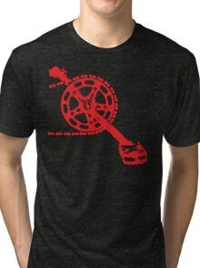 Cycling Crank Tri-blend T-Shirt