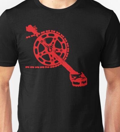Cycling Crank Unisex T-Shirt