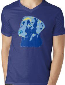 Labrador Retriever Mens V-Neck T-Shirt
