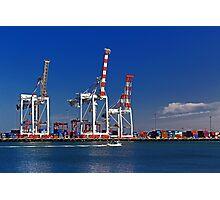 Fremantle Harbour - Western Australia  Photographic Print