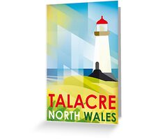 Talacre Lighthouse, North Wales Greeting Card