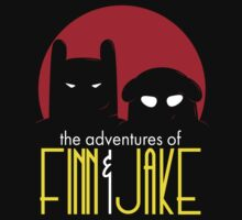 The Animated Adventures of Finn and Jake T-Shirt