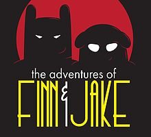 The Animated Adventures of Finn and Jake by the50ftsnail