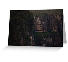 Grose Valley - Walls Of Stone Greeting Card