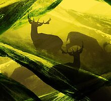 Oh Deer Complex Green by stohitro