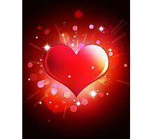Heart n Love  Photographic Print