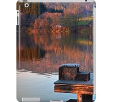 Romantic evening at the lake | waterscape photography iPad Case/Skin