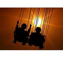 Tivoli Swingers Photographic Print