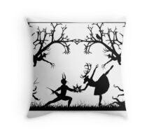 Danse Macabre  Throw Pillow