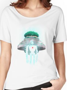Night Castle in the Sky Women's Relaxed Fit T-Shirt