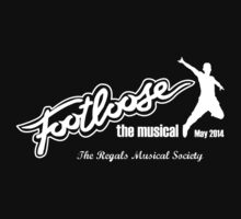 Footloose - Logo B/W 2 by The Regals  Musical Society