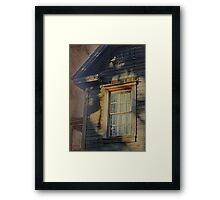 Florida Cracker House Framed Print