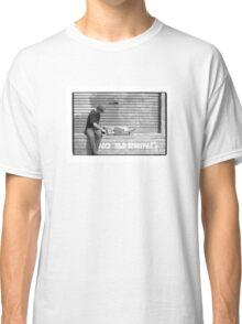 Luca Prestini setting up a new skateboard Classic T-Shirt