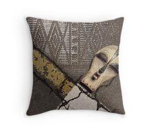 urban shaman 1 Throw Pillow