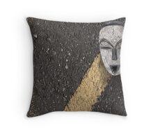 urban shaman 3 Throw Pillow