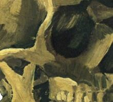 Vincent Van Gogh – Scull with a Cigarette Sticker