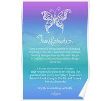 Affirmation - Transformation Poster