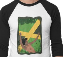 Reggae Man Men's Baseball ¾ T-Shirt