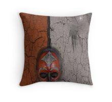 urban shaman 4 Throw Pillow