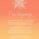 Affirmation - New Beginnings by CarlyMarie