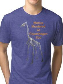 Marius Murdered At Copenhagen Zoo, T Shirts & Hoodies. ipad & iphone cases Tri-blend T-Shirt
