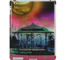 Shiney moon above bandstand iPad Case/Skin
