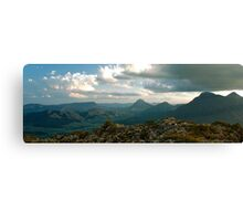 MT. LINDSEY PANORAMA - Queensland, AUSTRALIA Canvas Print