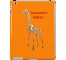 Remember Marius, T Shirts & Hoodies. ipad & iphone cases iPad Case/Skin