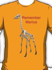 Remember Marius, T Shirts & Hoodies. ipad & iphone cases T-Shirt