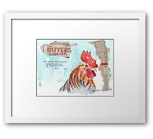 Country Diary - Buyers' Corner Framed Print