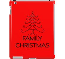 FAMILY CHRISTMAS iPad Case/Skin