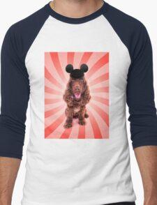 I am a Mouse Men's Baseball ¾ T-Shirt