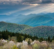 Southern Appalachian Great Smoky Mountain Scenic Landscape by MarkVanDyke