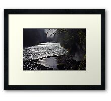 Deer Creek Hot Springs Framed Print