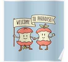 Welcome to paradise Poster