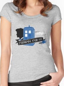 Raggedy Man Goodnight (second version) Women's Fitted Scoop T-Shirt