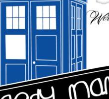 Raggedy Man Goodnight (second version) Sticker