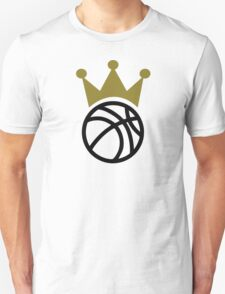 Basketball crown champion Unisex T-Shirt