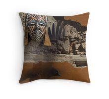 urban shaman 6 Throw Pillow