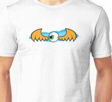Angry Flying Eye - Orange Unisex T-Shirt