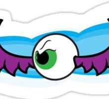 Angry Flying Eye - Purple Sticker