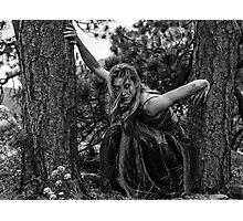 Crouching Tiger Photographic Print