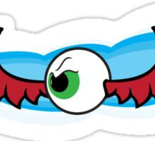 Angry Flying Eye - Red Sticker